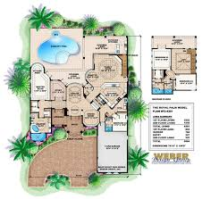 royal palm house plan weber design group naples fl