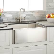 24 hazelton stainless steel farmhouse sink kitchen