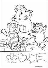 pets coloring page wonder pets coloring pages coloringbook org