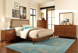 Teak Wood Modern Bed Designs Mid Century Modern Teak Bedroom Set Low Platform Bed Wit