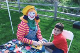 clown rentals for birthday painting happy birthday michigan kids entertainers