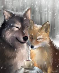 kiriban the wolf and the fox by evolvana on deviantart