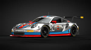 martini porsche rsr joma liveries