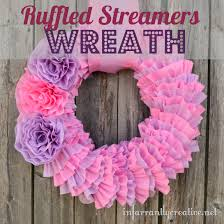 tissue paper streamers diy tissue paper wreath infarrantly creative
