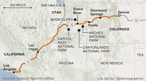 Utah Map National Parks by Road Trips Where To Go And What To Know La Times