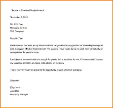 7 two week notice letter for work receipts template