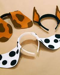 halloween headbands felt puppy ears martha stewart