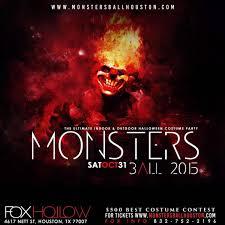 halloween monster ball the monsters ball saturday oct 31st the ultimate halloween