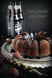 dark chocolate stout bundt buntbakers living the gourmet