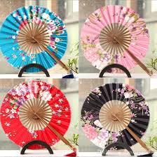 japanese folding fan 2018 the windmill japanese folding circular fan wedding fan