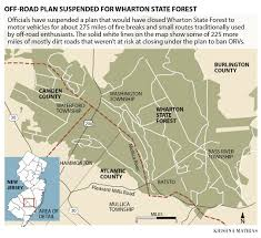 Furry Map Sorry About Wharton Plan Dep Tells Off Road Enthusiasts Top