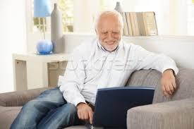 Man On Computer Meme - this guy this fucking stock photo guy neogaf