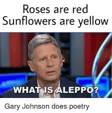 Gary Johnson Memes - 25 best memes about sunflower gary johnson aleppo gary