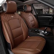 couvre siege cuir imperméable pu housse de siège de voiture en cuir pour volkswagen