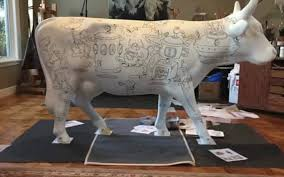 cowparade slo puts cow sculptures on display in slo county the