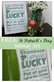 81 best st patrick u0027s day fun images on pinterest clovers free