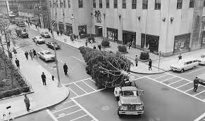 the history of the rockefeller center christmas tree a nyc