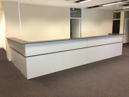 office table used round reception desk buy reception desk online