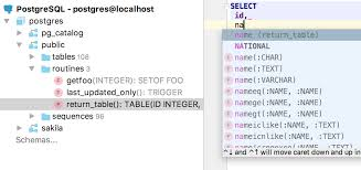 Missing Man Table Script What U0027s New In Datagrip