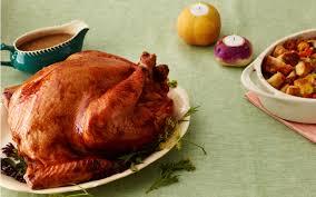 brined roasted thanksgiving turkey