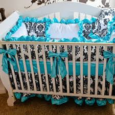 Fancy Crib Bedding Furniture X354 Q80 Delightful Turquoise Crib Bedding 25