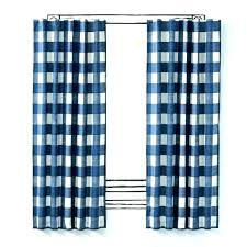 Navy Patterned Curtains Navy And White Drapes Bullishness Info