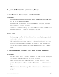 performance contract templates band performance contract template