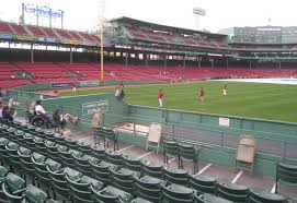 Fenway Park Seating Map 6 8 12 At Fenway Park The Baseball Collector