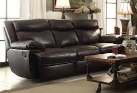 Reclining Sofa Set Sofa Sets Macpherson 2 Leather Reclining Sofa Set In Brown