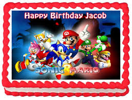 sonic the hedgehog cake topper 460 best ebay images edible cake toppers images on