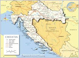 Political Map Of Italy by Political Map Of Croatia Nations Online Project