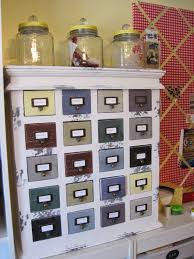 apothecary cabinet from hobby lobby perfect for notions in my