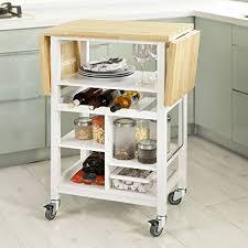 desserte cuisine sobuy fkw44 wn desserte sur roulettes chariot de cuisine meuble