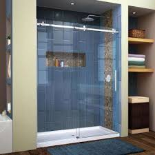 Buy Glass Shower Doors Frameless Shower Doors Showers The Home Depot