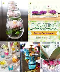 water centerpieces floating water centerpieces decorating tips to try unique