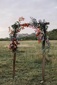 wedding arch kent simple wooden floral arch for your wedding ceremony mawage