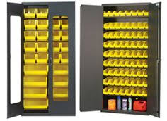 Quantum Storage Cabinet Quantum Storage Cabinet With 171 Bins U2014 48in X 24in X 78in Size