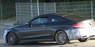 mercedes test 2018 mercedes amg c63 coupe facelift continues to test in germany
