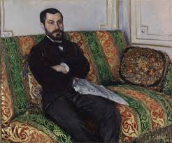 gustave caillebotte portrait of richard gallo oil painting