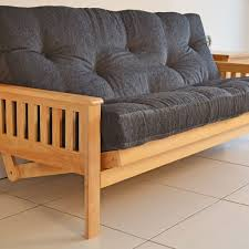 double futon sofa bed wood http tmidb com pinterest double