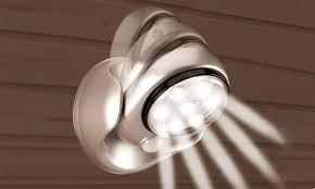 le exterieur avec detecteur de mouvement le led 12 99 détecteur mouvement pivotant 360 presence light