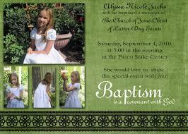 Baptism Invitations Cards Baptism Invitation Lds Baptism Invitations New Invitation