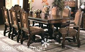 Oak Extending Dining Table And 8 Chairs Solid Oak Dining Table And 8 Chairs Dining Room Table 8 Chairs