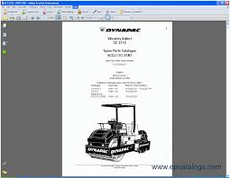 dynapac pdf parts manuals spare parts catalog heavy technics