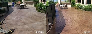 Refinishing Concrete Patio San Diego Residential Epoxy U0026 Concrete Flooring Qualitysealants