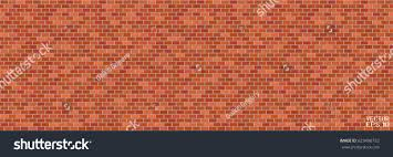 abstract red brown structural brick wall stock vector 623490752