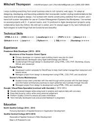 Php Developer Sample Resume by 100 Sample Resume For Php Developer It Security Resume It