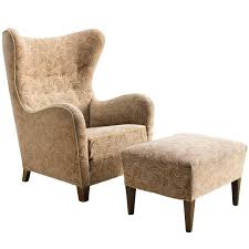 Matching Chair And Ottoman Slipcovers Wingback Chair With Ottoman Size Of Ottomans Chairs And