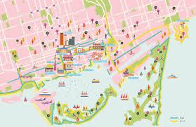 Toronto Canada Map by Luxury By The Lake Toronto Saskia Rasink