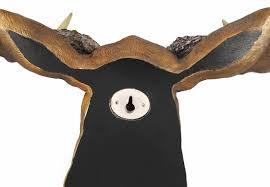 amazon com north american moose head bust wall hanging home